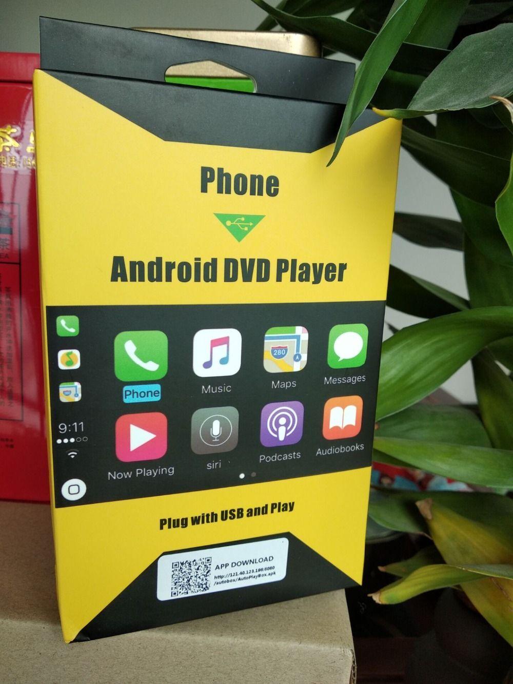 Navirider Android auto gps navigation zubehör carplay dongle stecker mit usb und spielen mit android auto funktion mobile ladegerät
