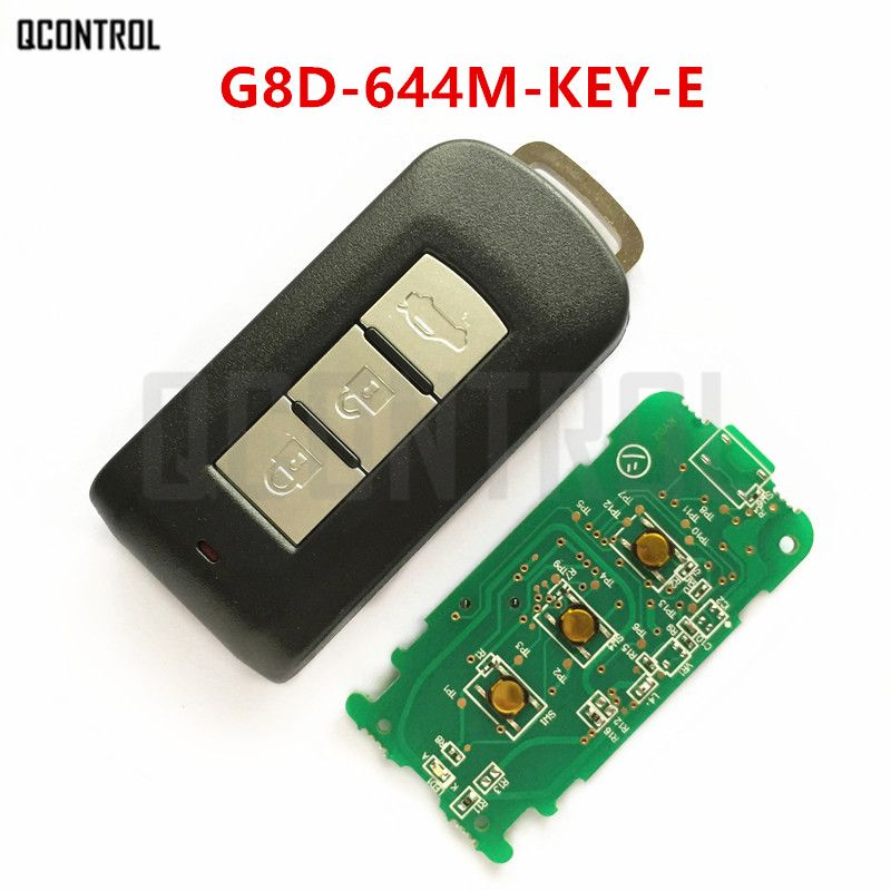 QCONTROL Car Remote Smart Key Suit for MITSUBISHI G8D-644M-KEY-E ASX Outlander Sport Pajero Shogun Montero Lancer RVR