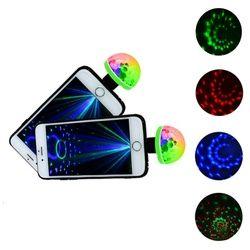 Baru 5 W USB Laser Lampu Mini RGB LED Disco Ball Bentuk Tahap Efek Nyaman Pesta Klub DJ Lampu Ponsel ponsel PC Power Bank Hot