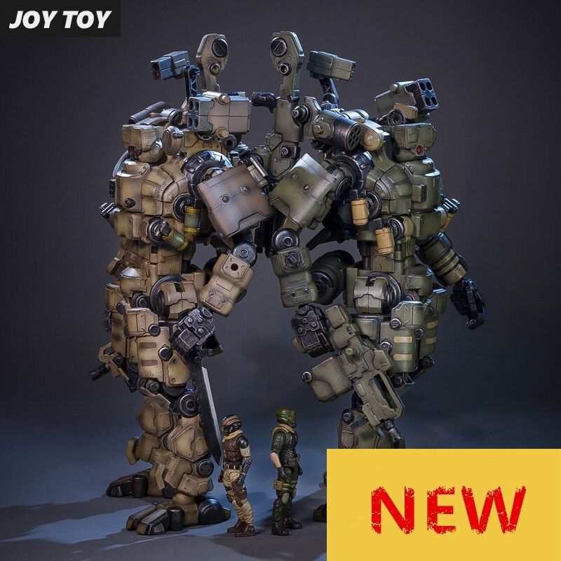 JOY TOY 1:27 Action figure robot Military soldier Set of the 4rd generation a birthday present toy (Simple packaging)RE009