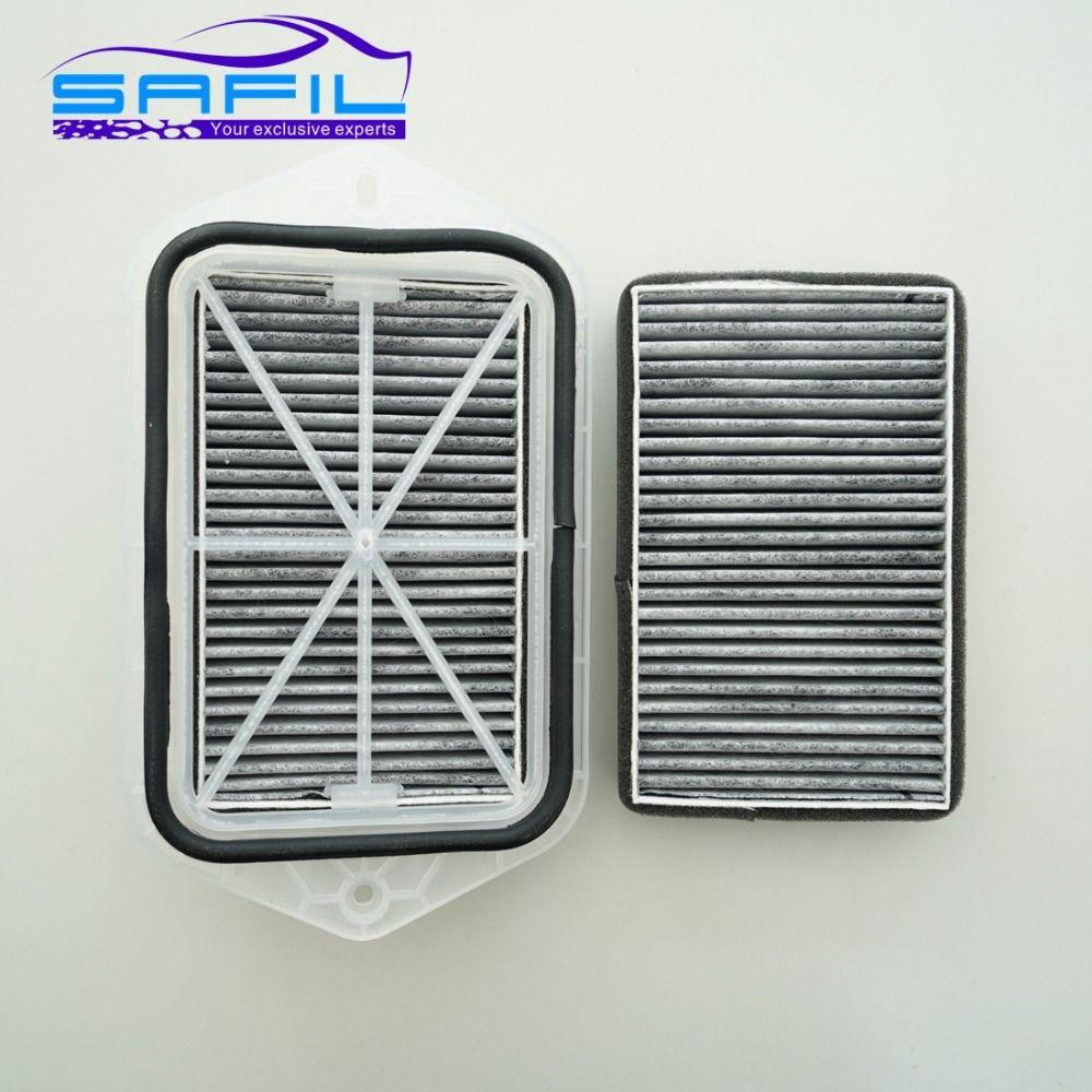 2 Holes Cabin carbon Filter for Vw Sagitar CC Passat Magotan Golf Tiguan Touran Audi Skoda Octavia External 2 Filters #ST100