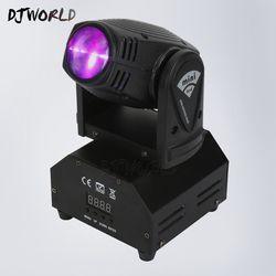 Feixe levou Movendo A Cabeça Luz Mini LED Spot Feixe 10 w DJ Equipamentos de Iluminação da Festa de Casamento