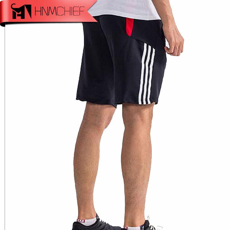 HNMCHIEF 2017 MÄNNER Sommer Hochwertigen Shorts Polyester Schnell Trockenen Training Fußball Basketball Laufen Training Jogger