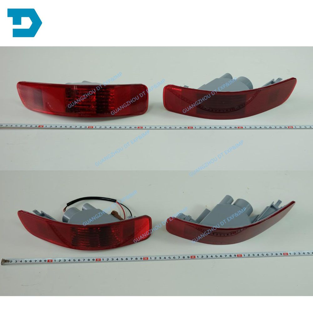 LEFT with bulb RIGHT WITHOUT BULB 2007-2012 outlander rear bumper lamp airtrek rear fog lamp