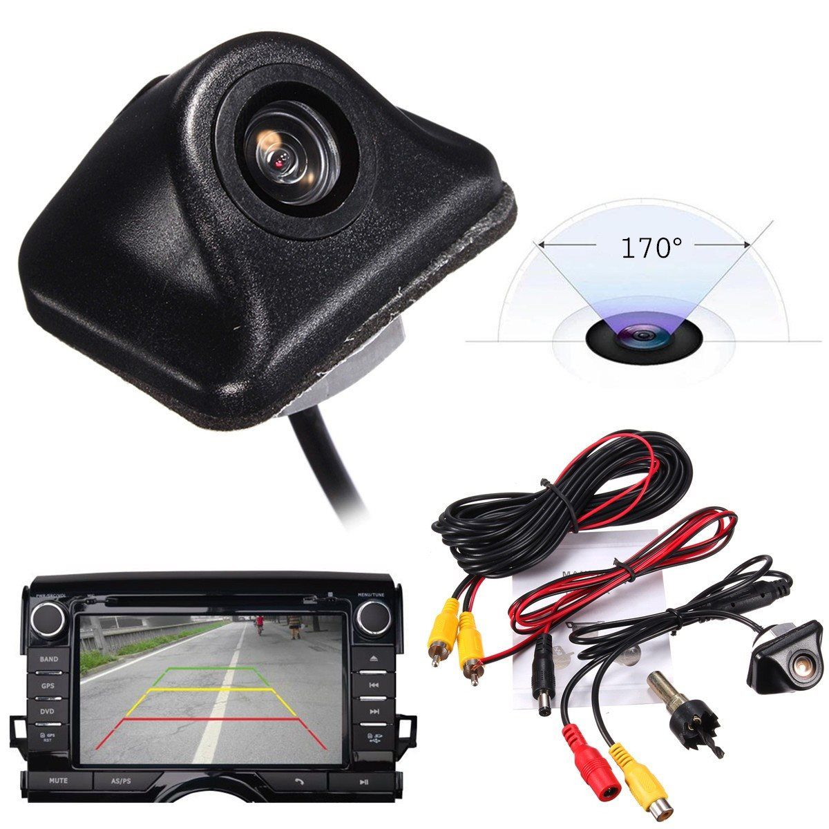 Newest 170 Night Vision Car Rear View Camera Universal Auto Parking Reverse Backup