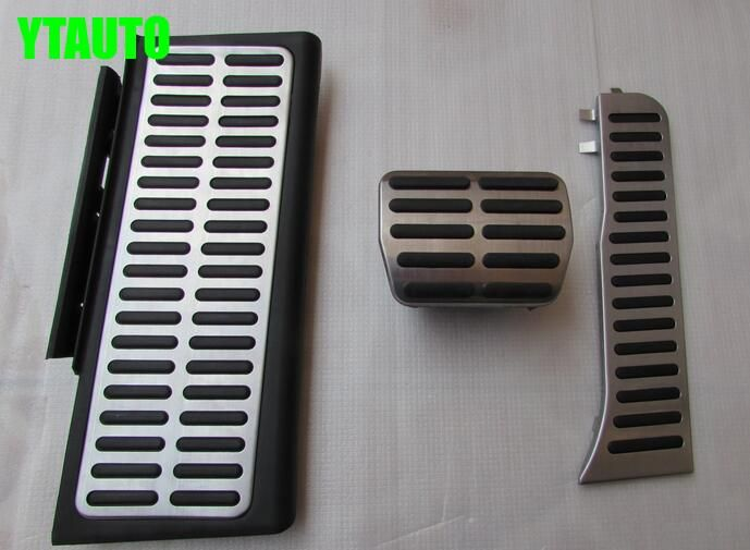 Auto gas accelerator pedal, brake and footrest pedal for Audi Q3 ,AT and MT, car styling