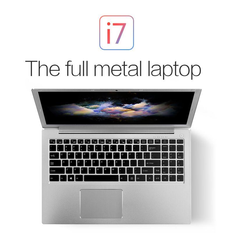 15,6 Zoll VOYO i7 Ultrabook Laptop Core i7 6500U Notebook Computer FHD 1920*1080 Gewidmet Karte Hintergrundbeleuchtete tastatur 4 GB RAM 1 TB HDD