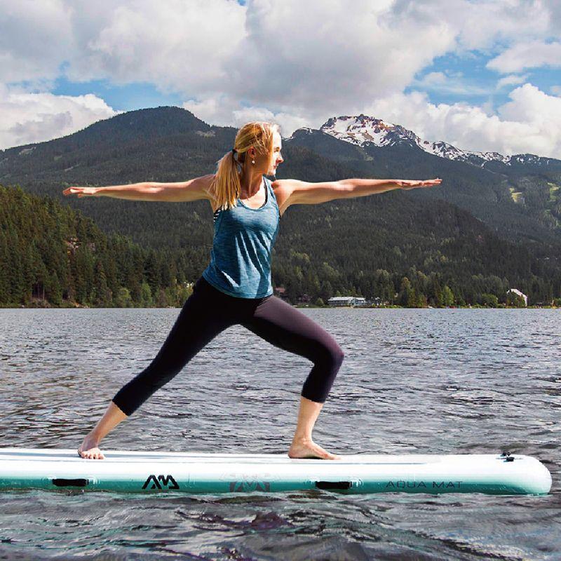 Aqua Marina 300*100*15 cm Frieden Teil Matte Teil Bord SUP Stand Up Paddle Board Plattform für Yoga Surfen Stabilität A01015