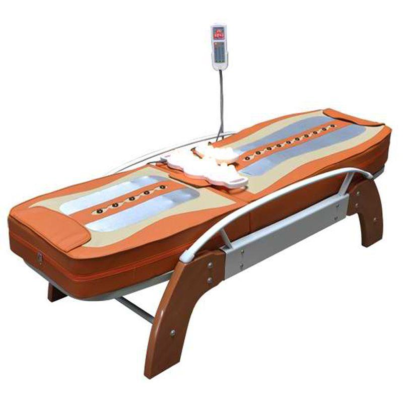 HFR-168-1C Migun Heißer Beheizte Tragbare Korea Günstige Nuga Besten Warme LCD Automatische Elektrische Roll Thermische Jade Stein Massage Bett