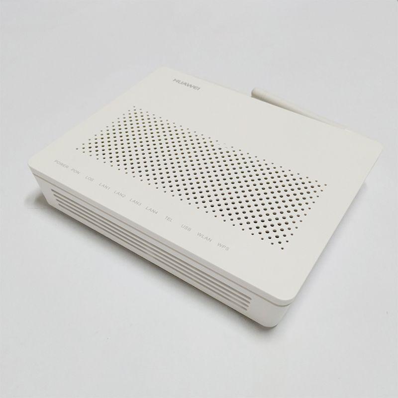 7PCS Verwendet Huawei GPON ONT HG8546M FTTH ONT termianl mit 1GE + 3FE + STIMME + WIFI Englisch software OHNE POWER und BOX Freies Verschiffen