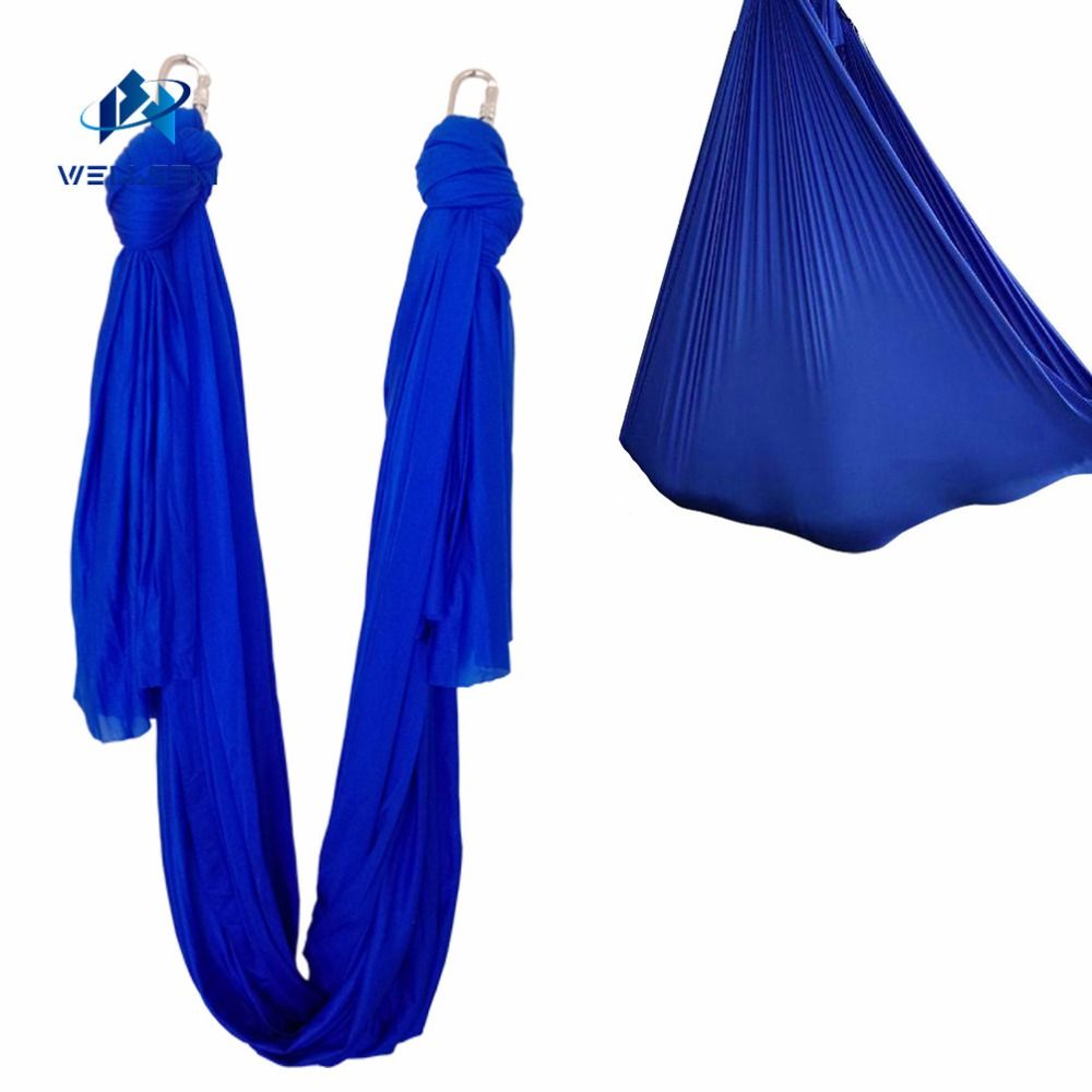 7meter length fabric Multifunction flying Yoga Hammock Swing Trapeze Anti-Gravity Inversion Aerial Traction Device Yoga belts