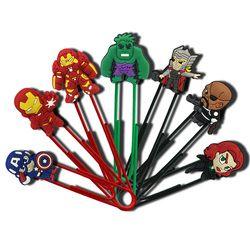 1 Pcs Kartun Marvel The Avengers Angka Bookmark Buku Klip Kertas Sekolah DIY Dekorasi untuk Anak-anak Hadiah
