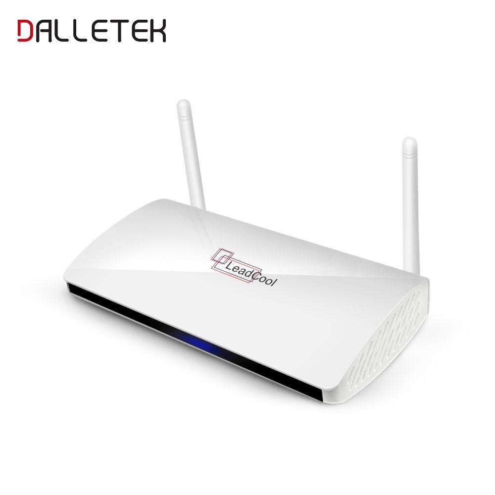 Dalletektv QHDTV Leadcool Europe Arabic TV Box Smart Android 6.0 TV Top Box Media Player