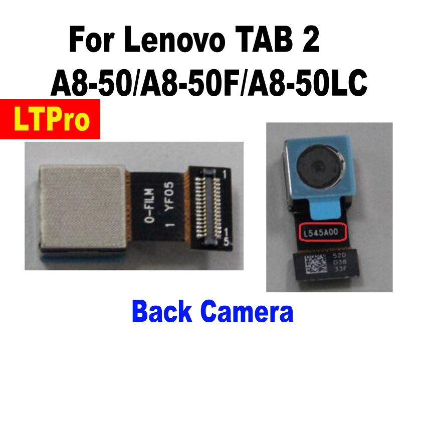 LTPro High Quality Big Rear Back Camera Module For Lenovo TAB 2 A8-50/A8-50F/A8-50LC Phone parts With Track Code