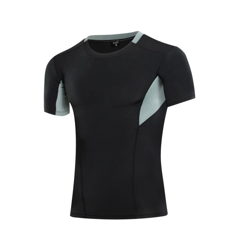 Men Summer Outdoor Running Quick Dry T-Shirt Short Sleeve Sport Tops Tee T-shirt Clothes
