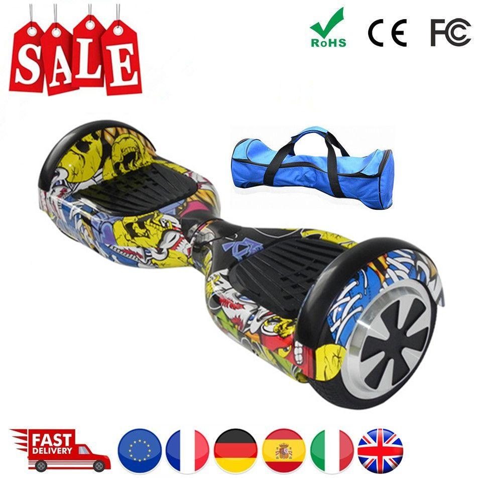 EU Lager Hoverboard 6,5 Zoll Elektrische Roller Elektrische Skateboard Elektrische Bord Hover Board Smart Balance Board Oxboard