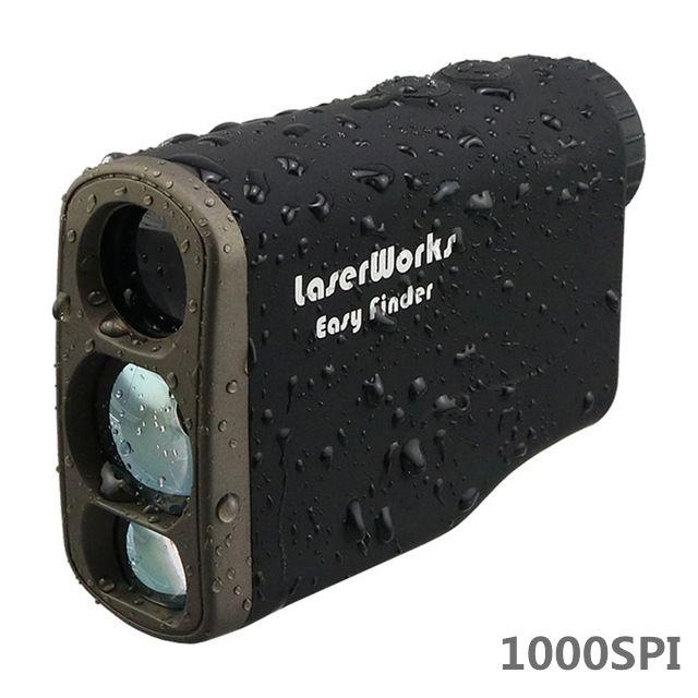 1000m laser range finder monocular telescope hunting rangefinder outdoor ranging speed tested laser distance measuring device 02