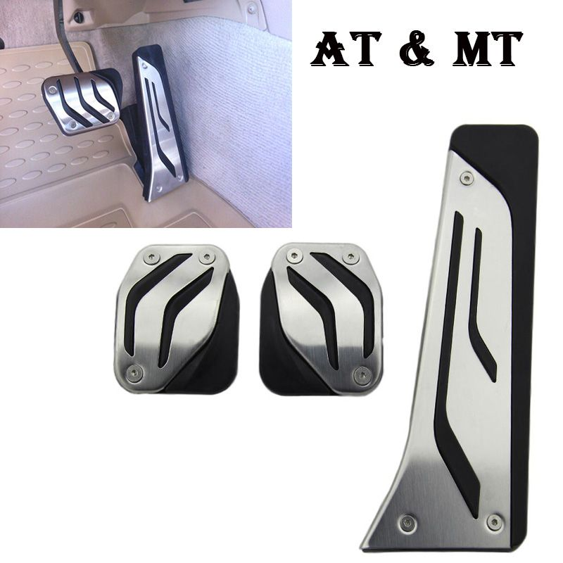Fit For BMW X1 X3 X4 X5 X6 E70 F15 E71 E72 F16 E83 F25 G01 E36 E46 E90 E92 E93 E87 F26 Car Pedal Cover Car-Styling accessories