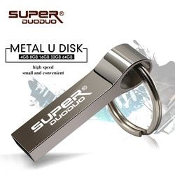 Gratis Pengiriman Flash Memori Stick Flashdisk 64 GB 128 GB Logam Pen Drive 16 GB 8 GB USB Flash Drive 32 GB USB Stick Terbaru Disk Kunci