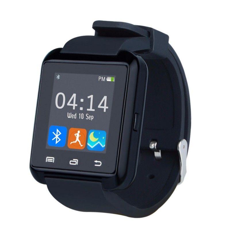 U8 SmartWatch Bluetooth Smart Watch сообщение уведомления о звонках Фитнес трекер Шагомер с SIM для телефонов iPhone Android