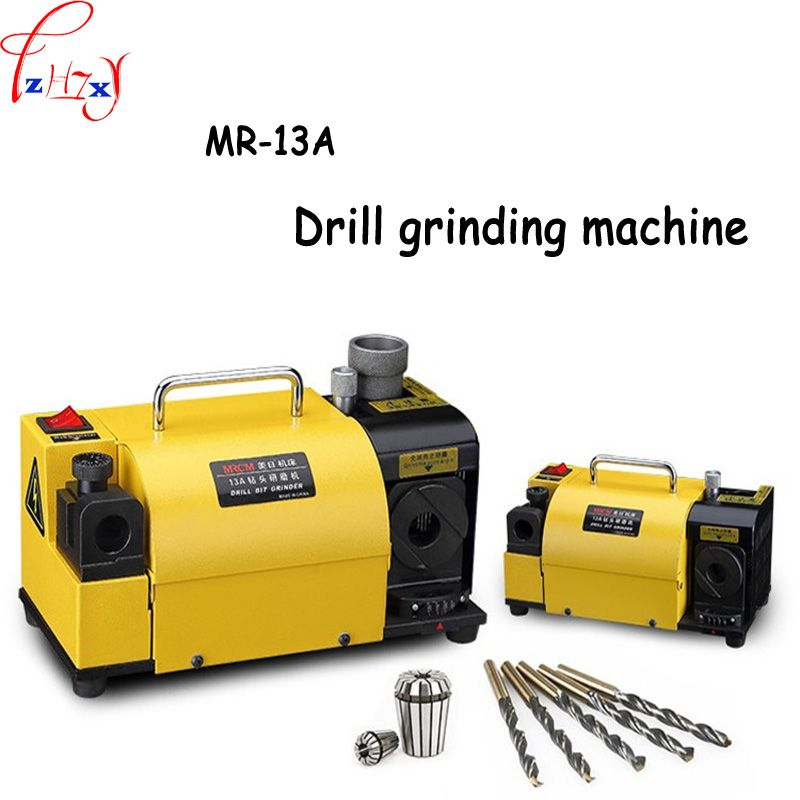 MR-13A Drill Bit Sharpener Drill Grinder Grinding Machine portable carbide tools, 2-13mm 100-135Angle CE Certification