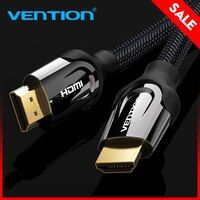 Convenio HDMI Cable HDMI a HDMI cable HDMI 2,0 4 K 3D 60FPS Cable para TV HD LCD portátil PS3 proyector de ordenador Cable 1 m 2 m 3 M 5 M