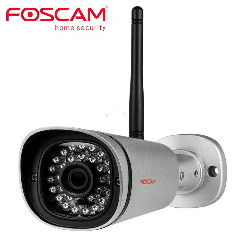 Foscam FI9900P HD 1080P Outdoor WiFi Security Camera Weatherproof IP66 Bullet / 2.0MP IP Wireless Surveillance Outdoor IP Camera