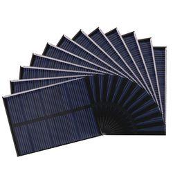 Anbes panel solar 5 V 6 V 12 V mini Sistema Solar diy para el teléfono celular de batería Cargadores portátil 0.15 w 0.6 W 1 W 1.25 W 1.5 W célula solar
