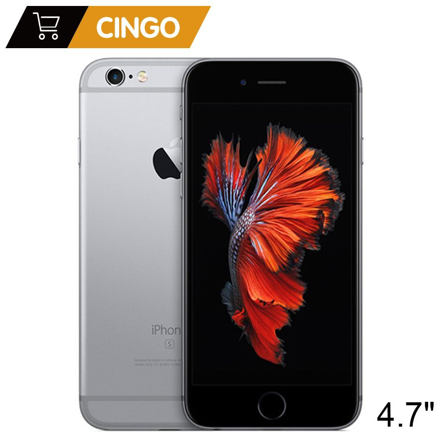 Original Apple iPhone 6s 2GB RAM 16GB 64GB 128GB ROM 4.7 iOS Dual Core 12.0MP Camera fingerprint <font><b>Unlocked</b></font> 4G LTE Mobile Phone