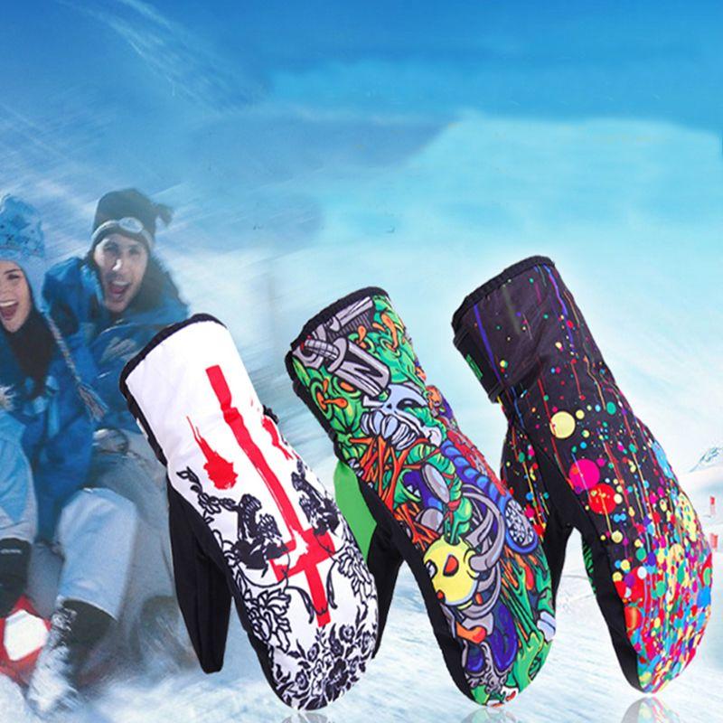 Marsnow Winter Ski Handschuhe für Männer Frauen Wasserdicht Winddicht Handschuhe Sport Snowboard Ski Radfahren Schnee Handschuh