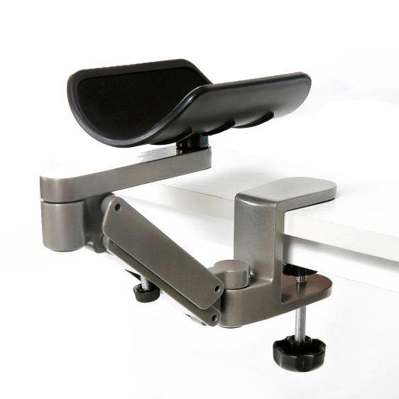 Support réglable de poignet de support de mains de tapis de souris d'alliage d'aluminium