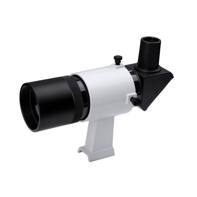 Datyson 8x50 Right Angle Finder Scope Fully Coated Achromatic Finderscope Features a Crosshair Eyepiece Telescope Scopefinder