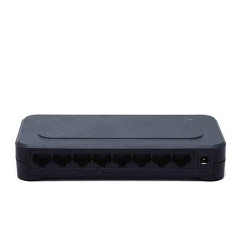 OEM New model 8 Port Gigabit Switch Desktop RJ45 Ethernet Switch 10/100/1000mbps Lan Hub switch 8 portas