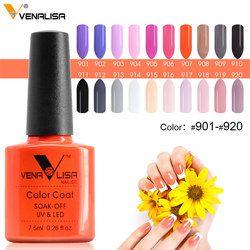 #61508 Venalisa Nail Gel Polish Color Nail Gel Soak Off Fast Dry Long-Lasting Beauty Color Gel 901~920