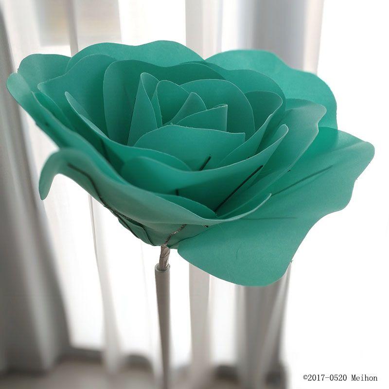 Grand mousse faux fleurs Roses artificielles ensemble de Style européen de mariage fleur mur de mariage fenêtre mise en page de fond