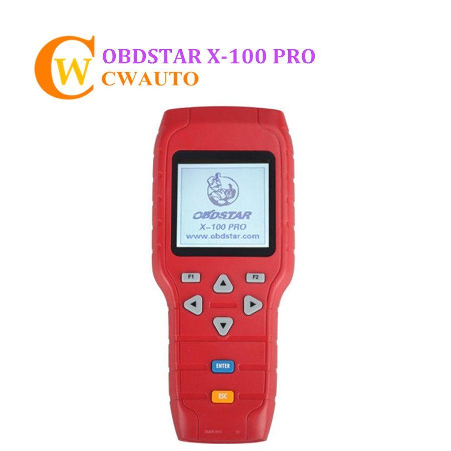 OBDSTAR X-100 X100 PRO Auto Key Programmer (C+D+E) Type for IMMOBILIZER Odometer Correction OBD Software