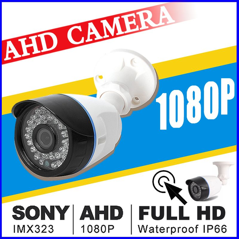 Ahd 720P 960P 1080p Security Surveillance Hd CCTV Camera 24day/n Outdoor Waterproof IP66 infrared Night Vision Color home video