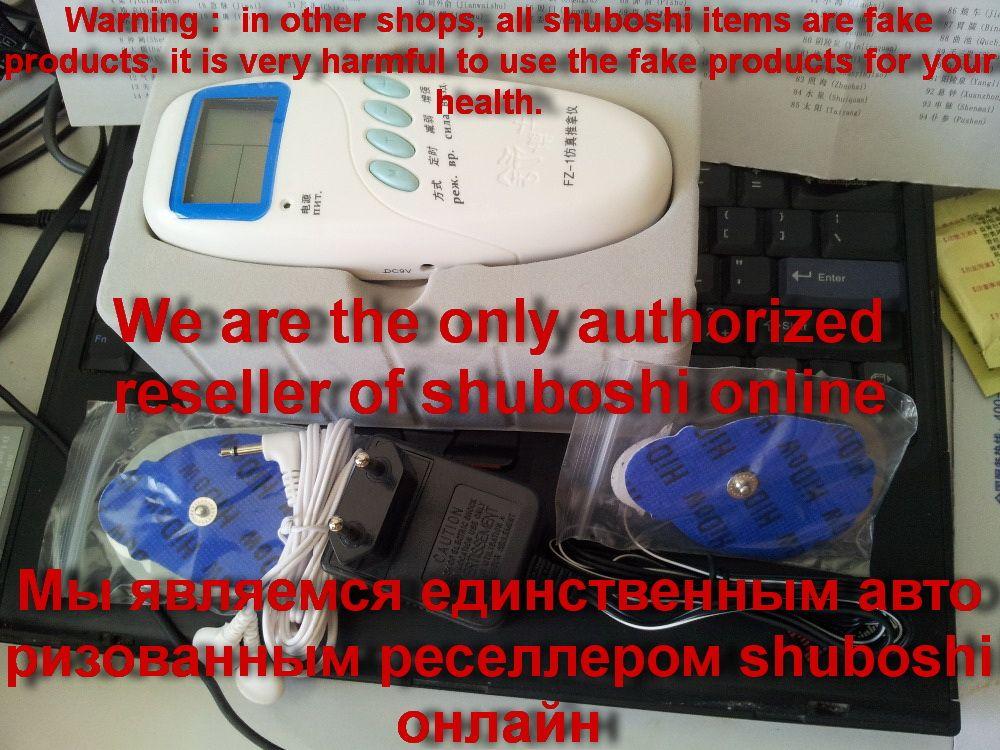 ACUPHUATUO TeaMasterMisha nouvelle électronique acupuncture instrument de massage électrique dispositif FZ-1 shuboshi manuel Anglais ou russe