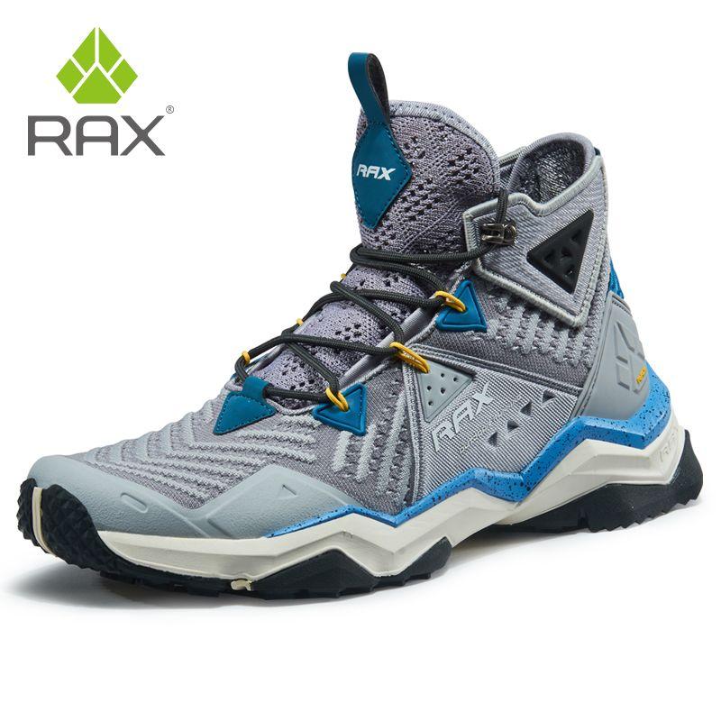 RAX Männer Professionelle Wandern Schuhe Stiefel Outdoor Klettern Stiefel für Berg Camping Turnschuhe für Männer Trekking Stiefel Große Größe