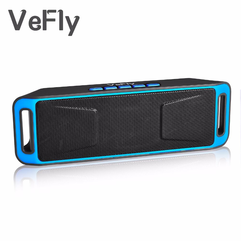 <font><b>VeFly</b></font> Wireless 4.2 Bluetooth Speaker, column Stereo Subwoofer USB Speakers computer TF Built-in Mic Bass mp3 player Sound Box