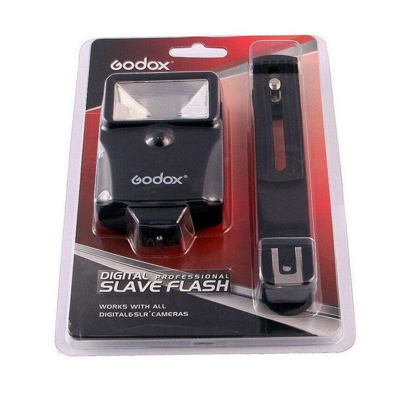 Nouveau Godox CF-18 Esclave Flash Speedlite avec Hot Shoe Mount Bracket pour Canon Nikon REFLEX Numérique DSLR Caméra 700D 650D 600D 1100D