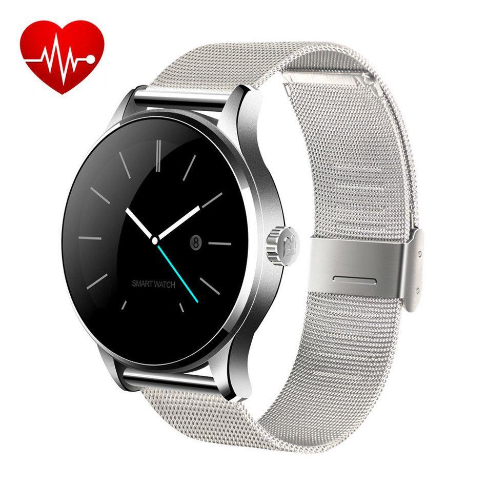 K88H Smartwatch Impermeable Reloj Inteligente Usable Dispositivos Salud Smartwatch Reloj Inteligente para teléfono Inteligentes Hombres Reloj Digital