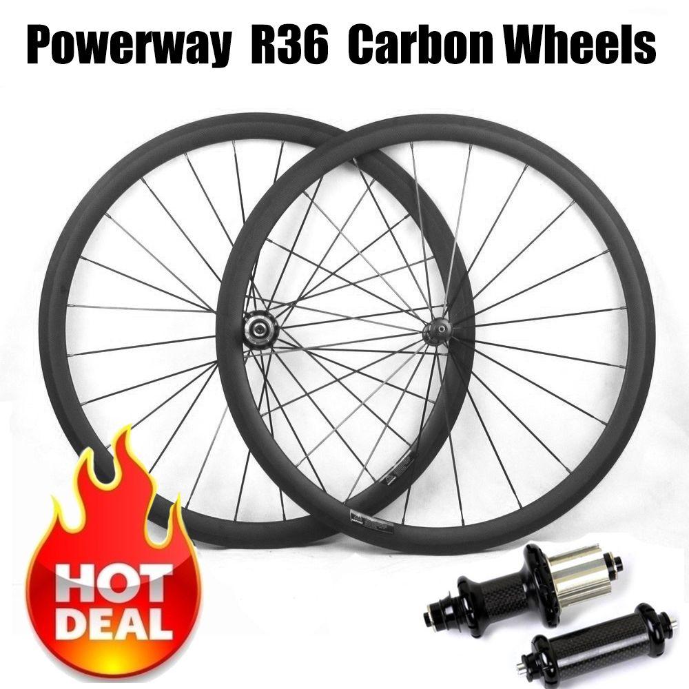 Super Light Carbon Bicycle Wheelset 700C 23/25mm Wide 38mm 50mm 60mm 88mm R36 Hub Road Bike Basalt Brake Surface Carbon Wheels