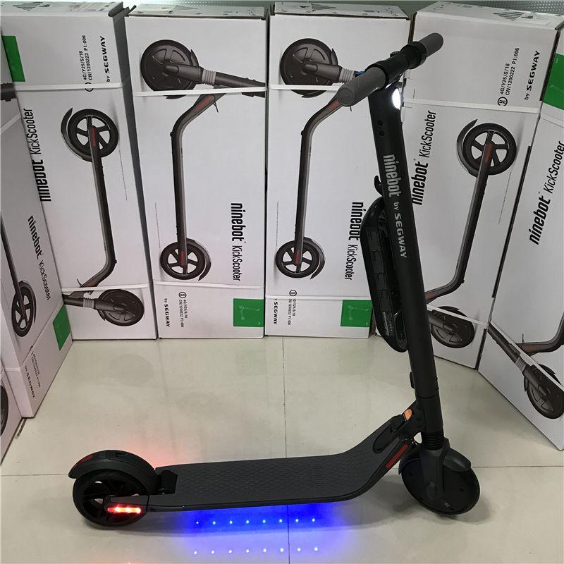 EU Lager Ninebot KickScooter ES4 Smart Elektrische Tretroller faltbare leichte hover board hoverboard skateboard mit APP