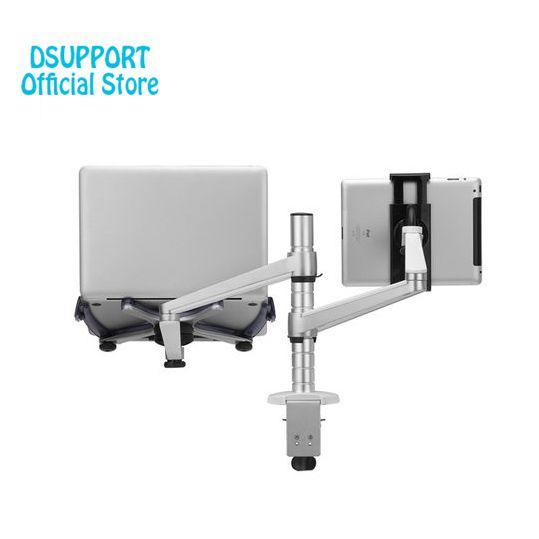 OA-9X Faul Tablet Laptop Stehen Verstellbare Höhe Drehbare Halter für Notebook innerhalb 10-16 zoll und Tablet PC 7-10 zoll