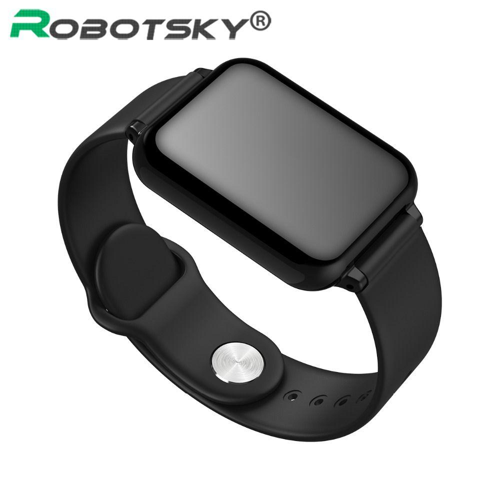 B57 Smart watch Bluetooth Heart Rate Blood Pressure Blood Oxygen Alarm Clock Men Sport Watch Wearable Watch For Dropshipping