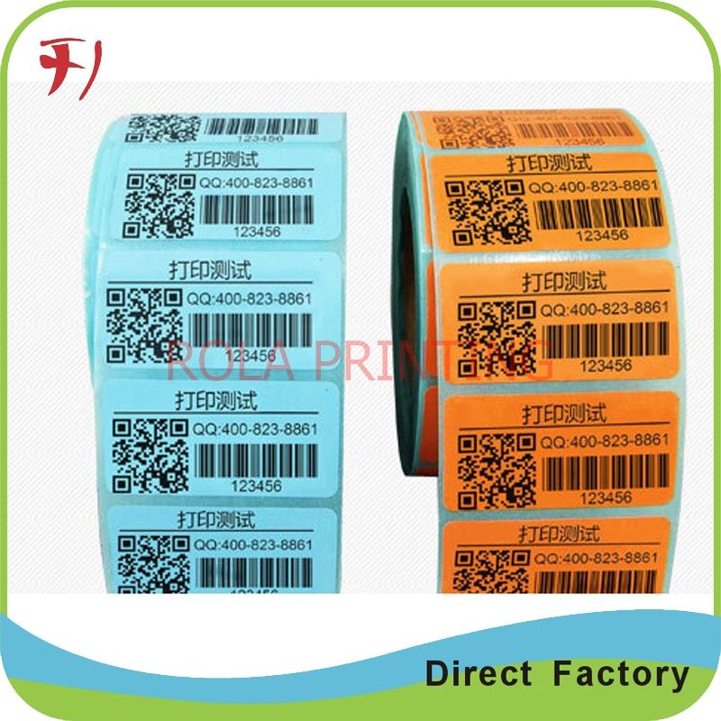 Customized     Anti counterfeiting barcode label