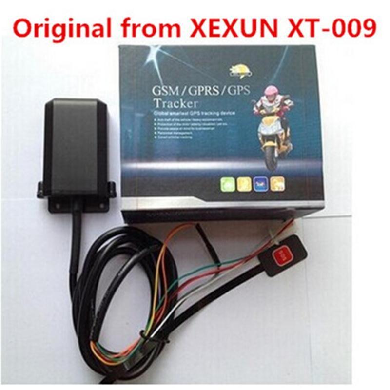 Original Xexun XT-009 Mini moto GSM GPS Tracker 2G dispositif de suivi de voiture alarme antivol gratuit téléphone Mobile APP suivi Web