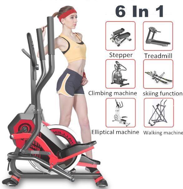 Ellipsentrainer Stationären Fahrrad Heimtrainer Für Home Gym crosstrainer Elliptischen maschinen magnetische elliptische fahrrad