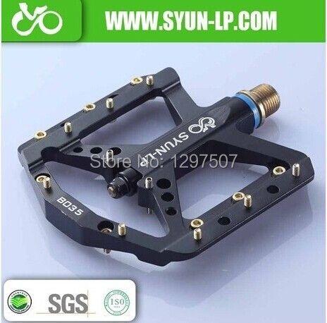 SYUN-LP corps en aluminium super léger vtt BMX DH bas colline plate-forme vélo pédale vtt pédales pièces de vélo xpedo bicicleta
